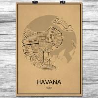 Havana - Retro Bykart - Brun