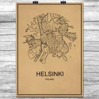 Helsinki - Retro Bykart - Brun (Ver 2)