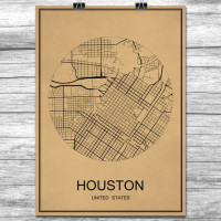 Houston - Retro Bykart - Brun