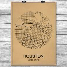 Houston - Retro Bykart - Brun