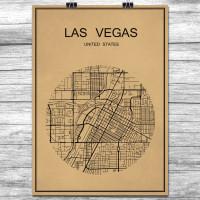 Las Vegas - Retro Bykart - Brun