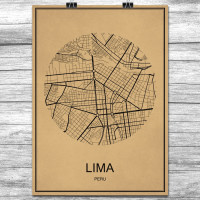 Lima - Retro Bykart - Brun