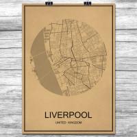 Liverpool - Retro Bykart - Brun