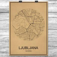 Ljubljana - Retro Bykart - Brun