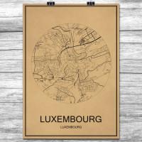 Luxembourg - Retro Bykart - Brun