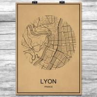 Lyon - Retro Bykart - Brun