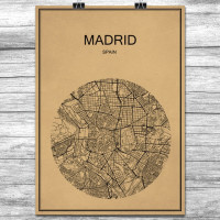 Madrid - Retro Bykart - Brun