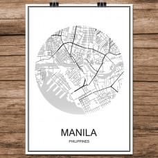 Manila - Minimalist Bykart - Hvit