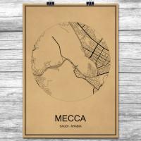 Mecca - Mekka - Retro Bykart - Brun