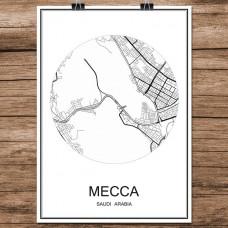 Mecca - Mekka - Minimalist Bykart - Hvit