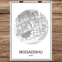 Mogadishu - Minimalist Bykart - Hvit