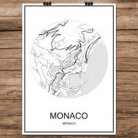 Monaco - Minimalist Bykart - Hvit