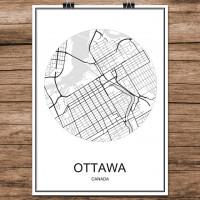 Ottawa - Minimalist Bykart - Hvit