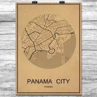 Panama City - Retro Bykart - Brun