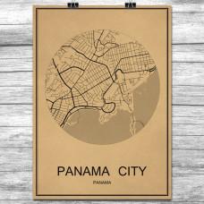 Panama City - Retro Bykart - Brun