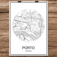 Porto - Minimalist Bykart - Hvit
