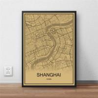 Shanghai - Retro Bykart - Brun Rektangel