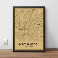 Southampton - Retro Bykart - Brun Rektangel