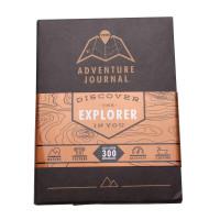 Reisedagbok med Skrapekart - Sort